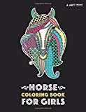 Horse Coloring Book For Girls: Advanced Coloring Pages for Tweens, Older Kids & Girls, Detailed Designs & Patterns, Zendoodle Animals, Horses, Colts, ... Practice for Stress Relief & Relaxation
