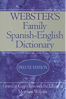 Websters Family Spanish-English Dictionary (Spanish and English Edition)