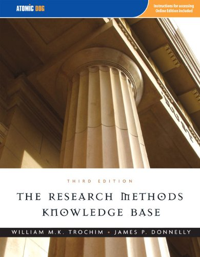 The Research Methods Knowledge Base, 3rd Edition