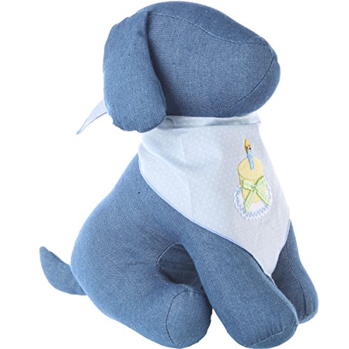 Image of Tail Trends Happy Birthday Dog Bandana For Boys - 100% Cotton (M)