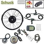 SCHUCK-48V-250W-26-Rotazione-Posteriore-Kit-Bicicletta-elettrica-per-Kit-Bici-elettrica-Parti-di-Biciclette-Display-Bicicletta-elettrica-LCD5