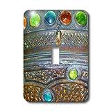 3dRose lsp_14514_1 Jewel Set Light Switch Cover