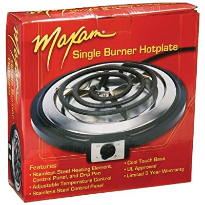 Maxam Single Burner Hotplate