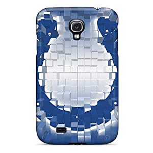 Samsung Galaxy S4 HZJ2099wBSH Custom Nice Indianapolis Colts Pattern Scratch Protection Hard Cell-phone Case -TimeaJoyce