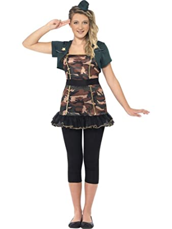 Militar Uniform Kostum Teenager Karneval Fasching Verkleidung
