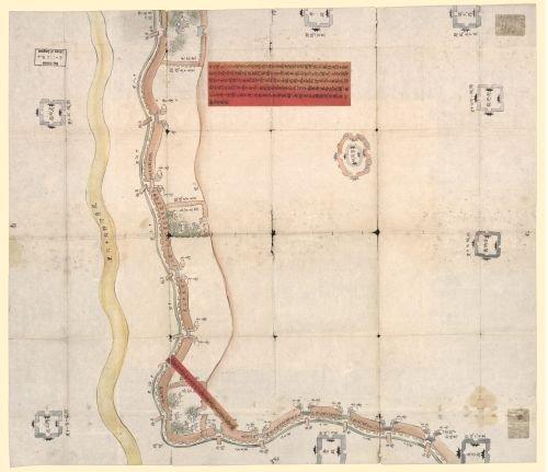 1855 Map Caozhou Fu Shan Xian nan di dong hao tu. - Size: 20x24 - Ready to Frame - China | Shan Xian
