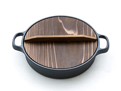 Oigen - Olla de Hierro Fundido Dango, 26 cm de diámetro, 6,5 ...