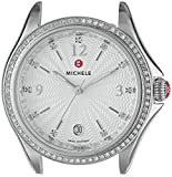 MICHELE Women's 'Belmore' Swiss Quartz Stainless Steel Casual Watch Head, Color Silver-Toned (Model: MW29A01A1942)