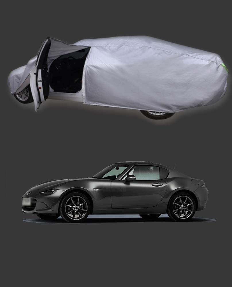 Color : Black1, Size : CX-3 WJSXJJ Car Cover Outdoor Sedan Abdeckung wasserdicht Winddicht Allwetter Kratzer best/ändig Au/ßen UV-Schutz Anpassbare