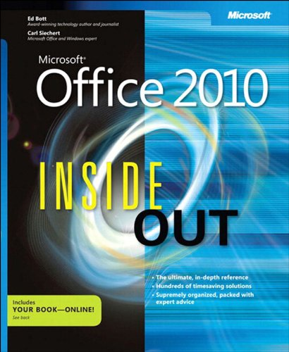 Microsoft® Office 2010 Inside Out Pdf