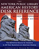 The New York Public Library American History Desk Reference, Douglas Brinkley, 0786868473