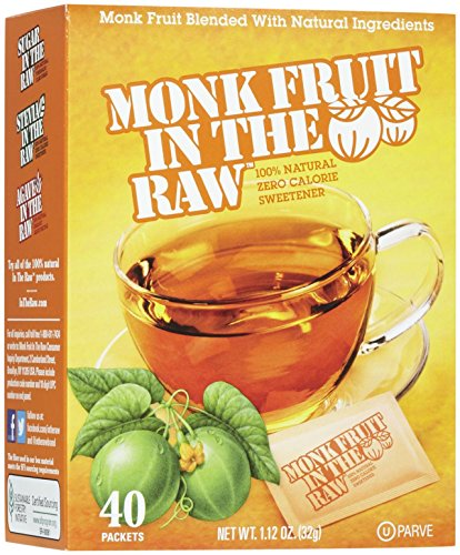Sugar in the Raw Monk Fruit In The Raw - 40 ct