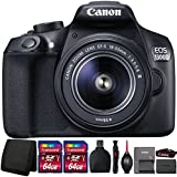 Canon EOS 1300D/T6 18MP DSLR camera with 18-55mm III Lens and Accessories