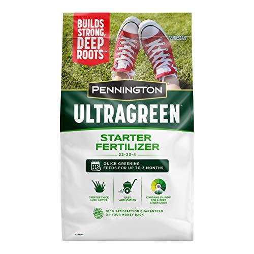 Pennington 100536574 UltraGreen Starter Lawn Fertilizer, 14 LBS, Covers 5000 sq ft