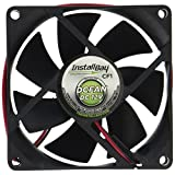 Install Bay CF1 Cooling Fan 12 Volt 3.1 Square-Inch By 1-Inch Deep Each