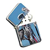 Lacrosse Stix - Silver Chrome Pocket Lighter by Elements of Space