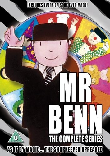 Mr Benn: The Complete Series [DVD] [1971]. As if by magic, the shopkeeper appeared!