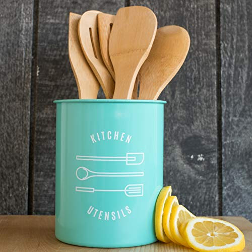 Now Designs Utensil Crock, Turquoise by Now Designs (Image #2)