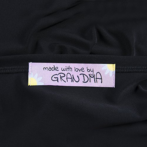 f077e28c6a49 Wunderlabel Made with Love by Grandma Nana Grandmother Floral ...