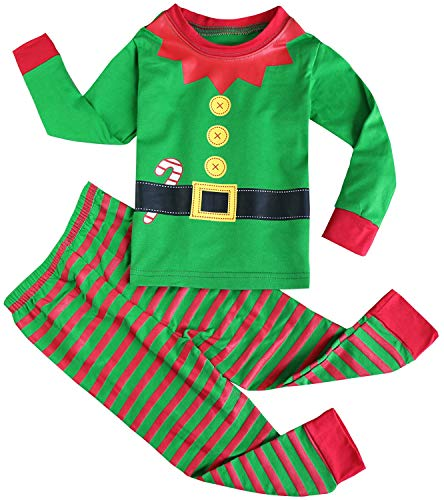 9cf86a5a2 Jual FANCYINN Kid Boy Girls Xmas Pjs Long T Shirt and Pants Sets ...