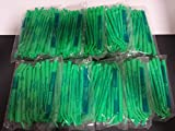 SURGICAL ASPIRATOR SUCTION TIPS GREEN CASE OF 250 PIECES 1/4 DENTAL