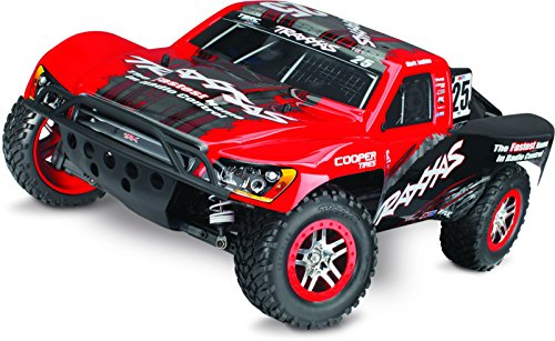 Traxxas Slash 4X4 1/10 Scale 4WD Electric Short Course Truck with Low-CG Chassis, On-Board Audio, and TQi 2.4GHz Radio, Mark