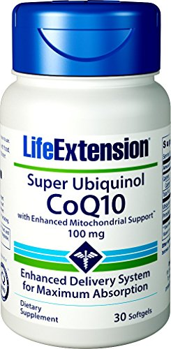 Ubiquinol Coq10 with Enhanced Mitochondrial Support 100 Mg, 30 Softgels ()