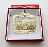 The White House Christmas ORNAMENT Souvenir Gift 1600 Pennsylvania Avenue
