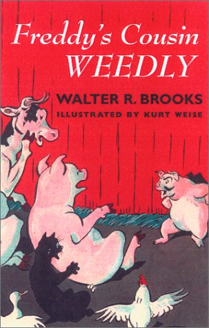 book cover of Freddy\'s Cousin Weedly