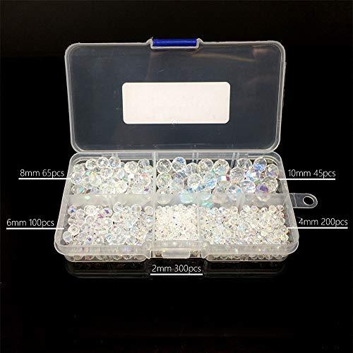 Buy 8 mm glass rondelle beads