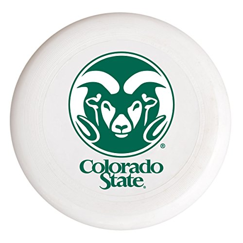 NCAA Colorado State Rams Flying Disk-Colorado State University Plastic Flying Saucer by R and R Imports