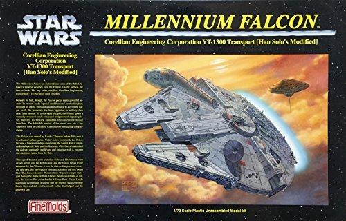 Star Wars Millennium Falcon Japanese Collectible 1/72-Scale Model Kit (Fine Molds Millennium Falcon)