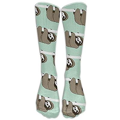 Cute Sloth Unisex Comfortable Pattern Crew Socks Athletic Socks For Boys And Girls - Sloth Socks