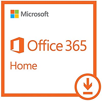 Microsoft Office 365 Home|1 Year Subscription | with Auto-renewal, 2-5 users, PC/Mac Download