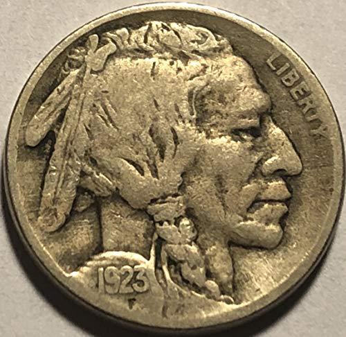 1923 S Buffalo Nickel Fine