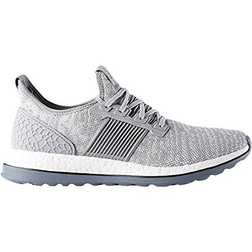 Adidas Performance Mens Pureboost Zg Löparskor Mitten Grå-grå-svart