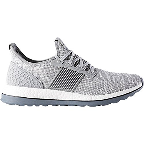 Adidas Performance Menns Pureboost Zg Løpesko Mid Grå-grå-svart