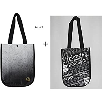 Amazon.com: Lululemon Reusable Tote Carryall Handbag (Red