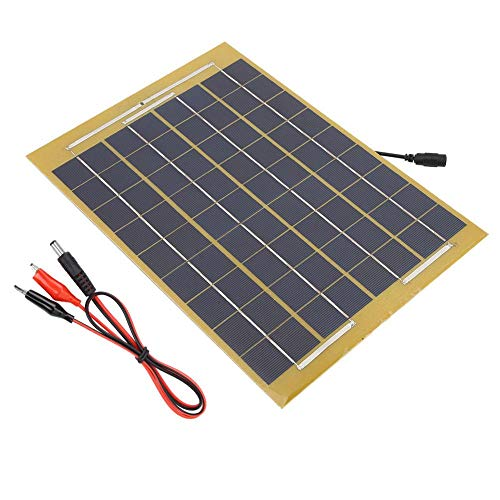 10W Solar Panel Charger 18V Waterproof Portable Solar for sale  Delivered anywhere in Canada