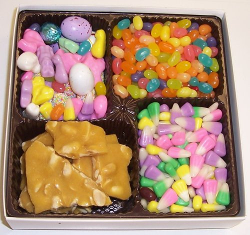 Scott's Cakes Large 4-Pack Bunny Corn, Deluxe Easter Mix, Sp