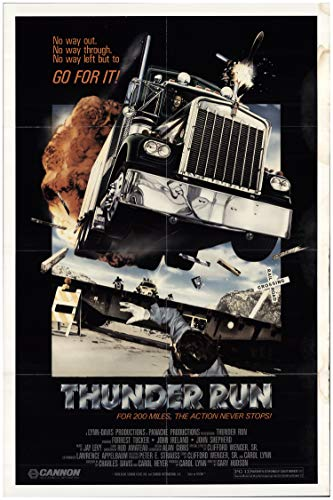 Thunder Run 1986 Authentic 27