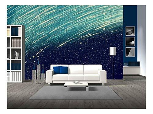 Glitter Vintage Lights Background Light Silver Blue and Black Defocused