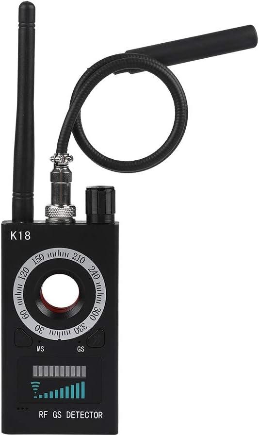 Yellow+Black T-8000 RF Signal Bug Detector GPS Scan Detector fosa Anti Spy Camera Detector Mini Camera Lens Tracker Ultra-high Sensitivity Signal Device Finder