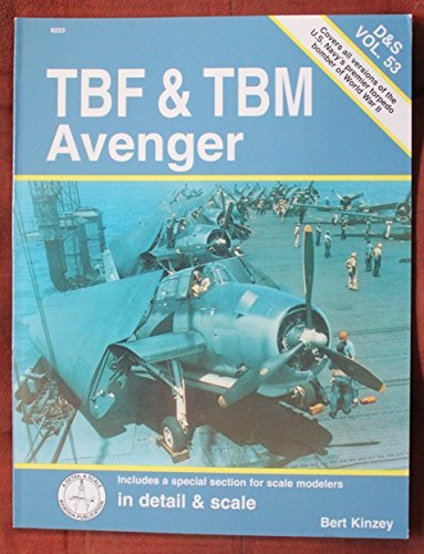 TBF & TBM Avenger in detail & scale - D&S Vol. 53