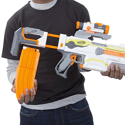 NEW Nerf N-Strike Modulus ECS-10 Blaster Water Gun Great Summer Gift Kids