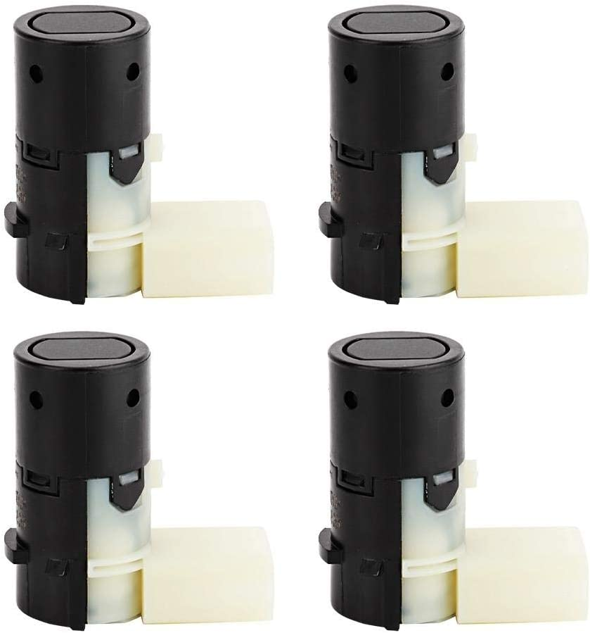 Hlyjoon Parksensoren 4B0 919 275 A 4 St/ücke Auto PDC Parksensor R/ückfahrwarner Einparkhilfe Kfz PDC Sensor f/ür A6 4B 4F S6 A8 4E S8 S4 RS4 4B0919275A
