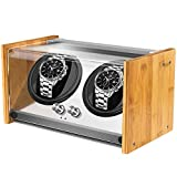 Best Double Watch Winders - Watch Winder Box for Automatic Watches or Rolex Review