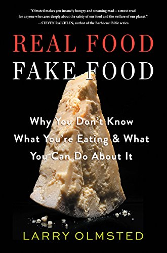 Real Food Fake food book cover