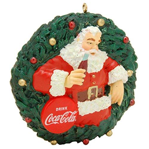 (Coca Cola Santa Claus Ornament American Greetings)
