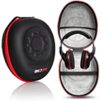 Deco Gear Full-Sized Premium Hard Body Professional Headphone Case with Plush Interior